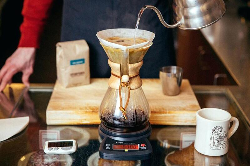 cà phê pour over