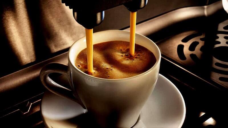 cách pha  cà phê Latte