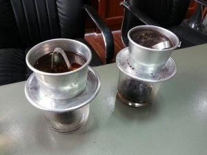 thời gian pha cà phê