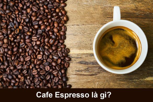 cà phê cho việc pha Espresso