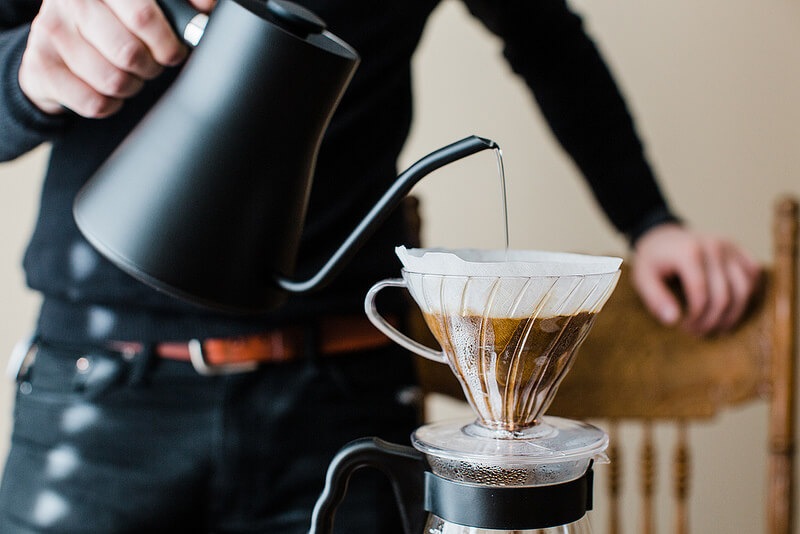 Huong dan cach pha ca phe Pour over