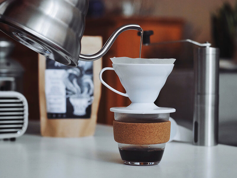 pha ca phe Pour over dung