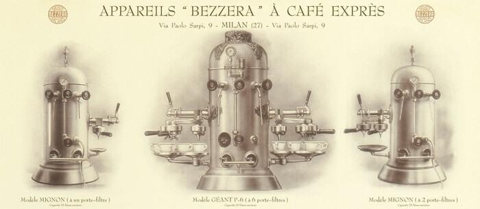 Lịch sử máy pha cà phê