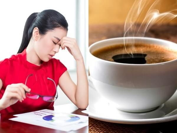 18 uống cà phê bị say
