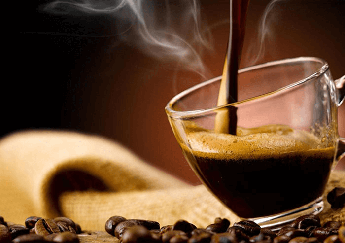 Ly cà phê nguyên chất
