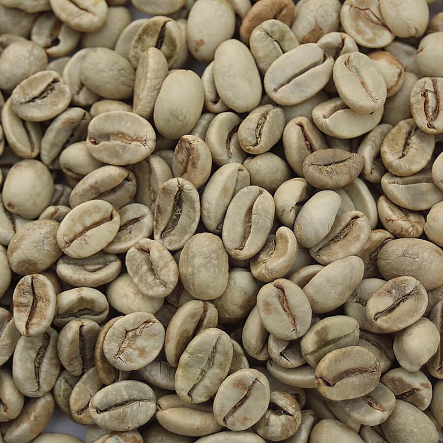 hạt cà phê chưa rang