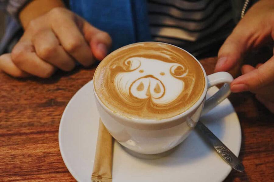 Cách tạo hình Latte