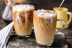 cách thưởng thức cà phê sữa tươi