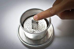 cách pha cà phê muối